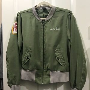 Boba Fett cropped jacket from Hot Topic